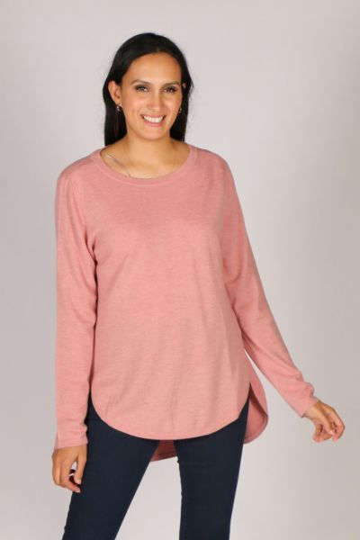 Bridge & Lord Curved Jumper In Dusty