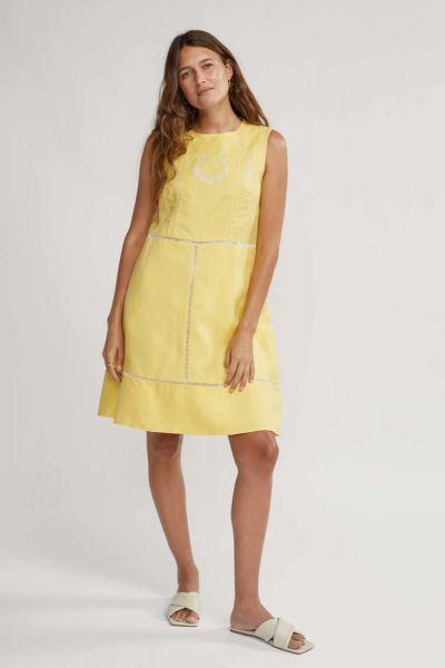 Binny Great Grandmother Jet Dress In Yellow