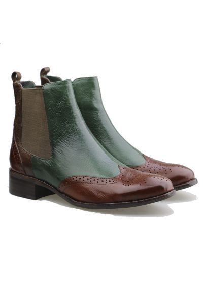 Clover Boot By Django & Juliette In Cognac