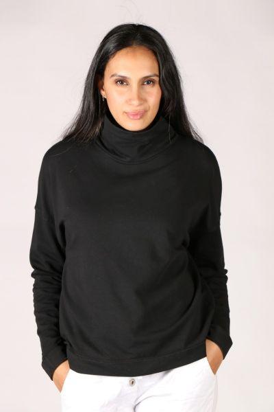 Funky Staff Turtle Sweater In Black
