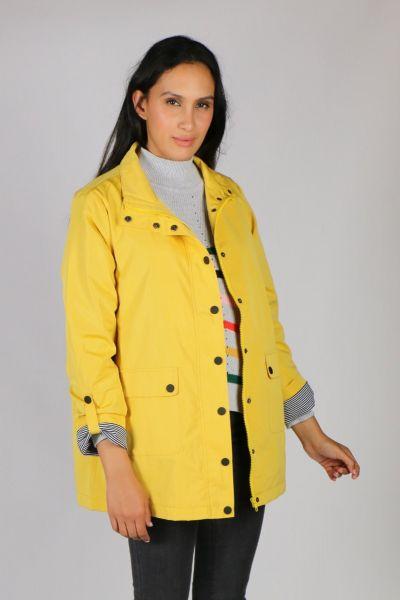 Gordon Smith Marine Coat In Yellow