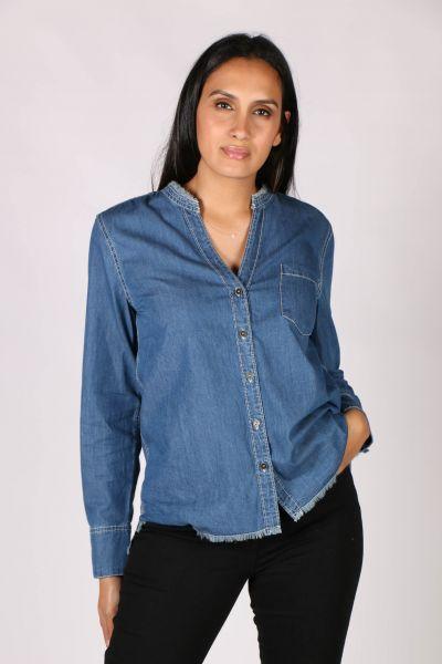 Hatley Classic Denim Shirt In Blue
