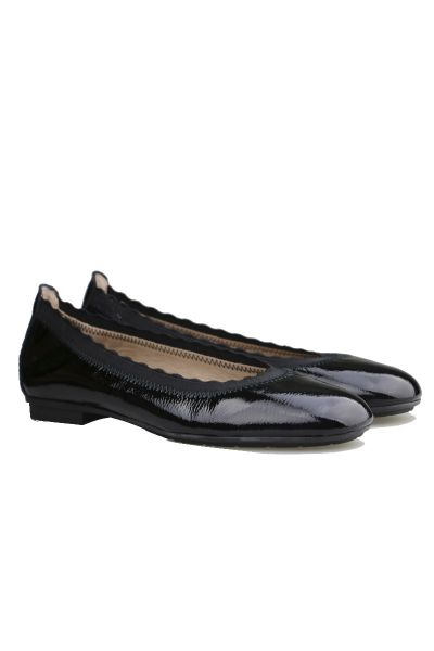 Classic Ballet Pump By Hispanitas In Black