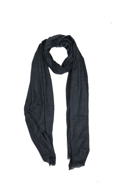 Humidity Melge Scarf In Charcoal