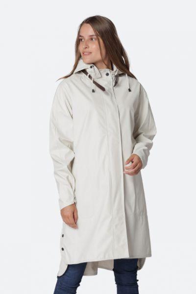 Ilse Jacobsen Raincoat In Cream