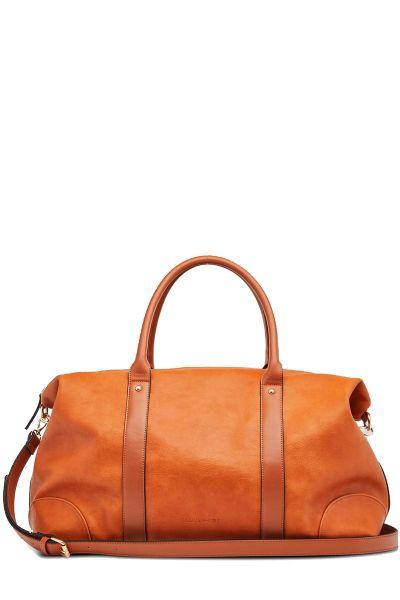 Alexis Weekender Bag By Louenhide In Tan