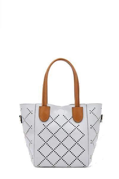 Baby Bermuda Bag By Louenhide In Grey