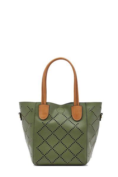 Baby Bermuda Bag By Louenhide In Khaki