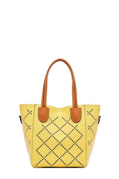 Baby Bermuda Bag By Louenhide In Yellow