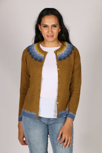 Mansted Jaleh Cardi In Curry