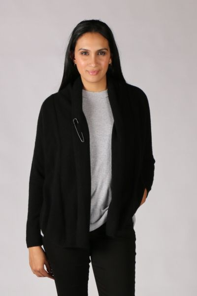 Mansted Zoda Cardi In Black