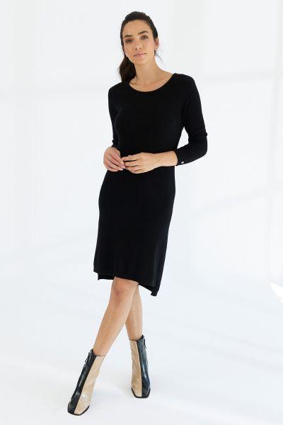 Mia Fratino Essentials Tee Dress In Black