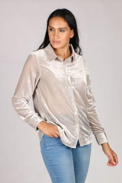 Ridley Fireside Shirt In Silver
