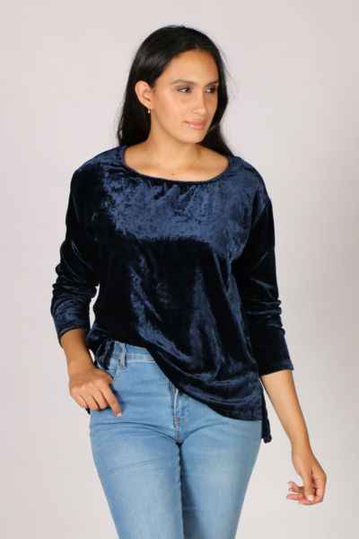 Ridley Here I Go Again Top In Navy