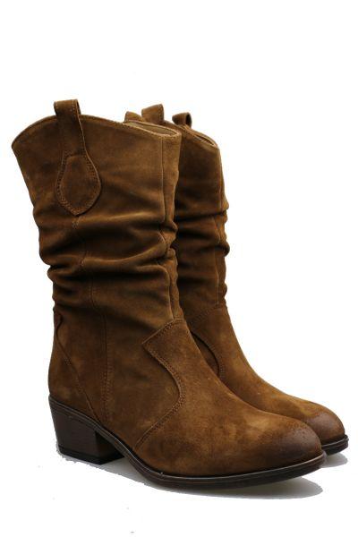 Western Boot By Sempre Di In Tan