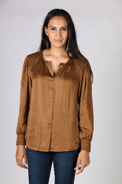 Verge Lido Shirt In Bronze