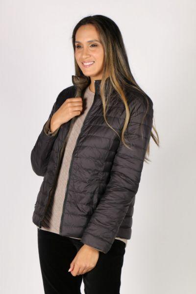 Sabena Reversible Hooded Puffer Jacket In Olive