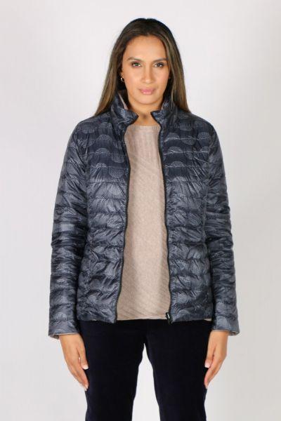 Sabena Reversible Hooded Puffer Jacket In Spot