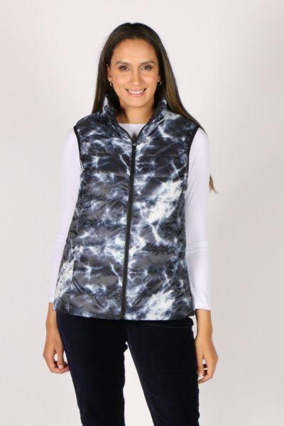 Sabena Reversible Vest In Marble