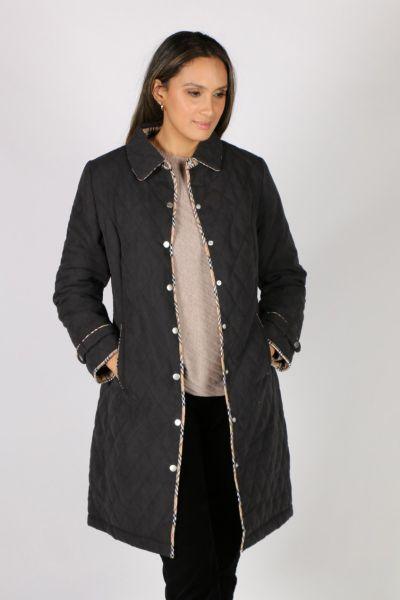 Sabena Quilted Jacket In Black