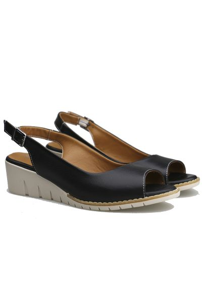 Abby Wedge By Sala In Black