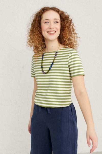 Seasalt Sailor Tee In Green