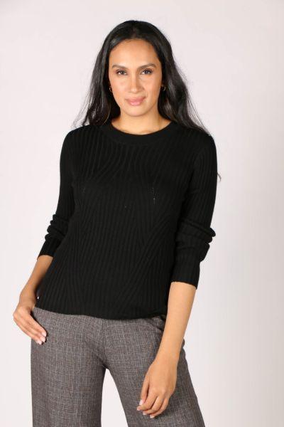 Verge Liverpool Sweater In Black