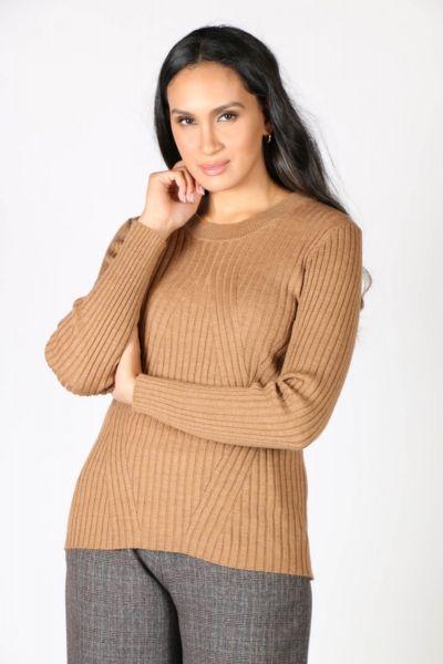 Verge Liverpool Sweater In Caramel