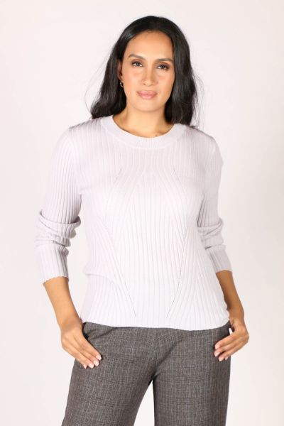 Verge Liverpool Sweater In Silver
