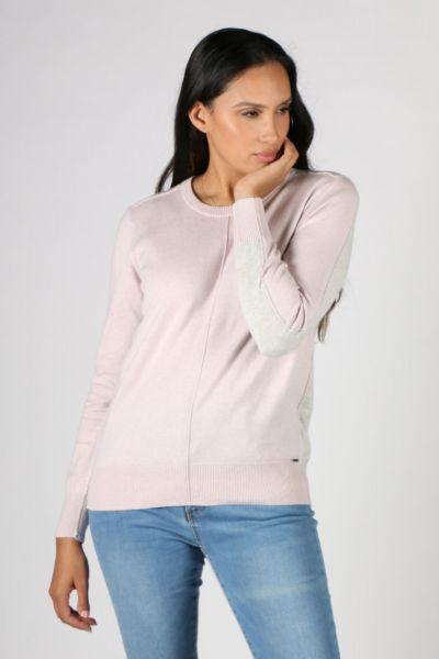 Verge Awaken Sweater In Wisteria